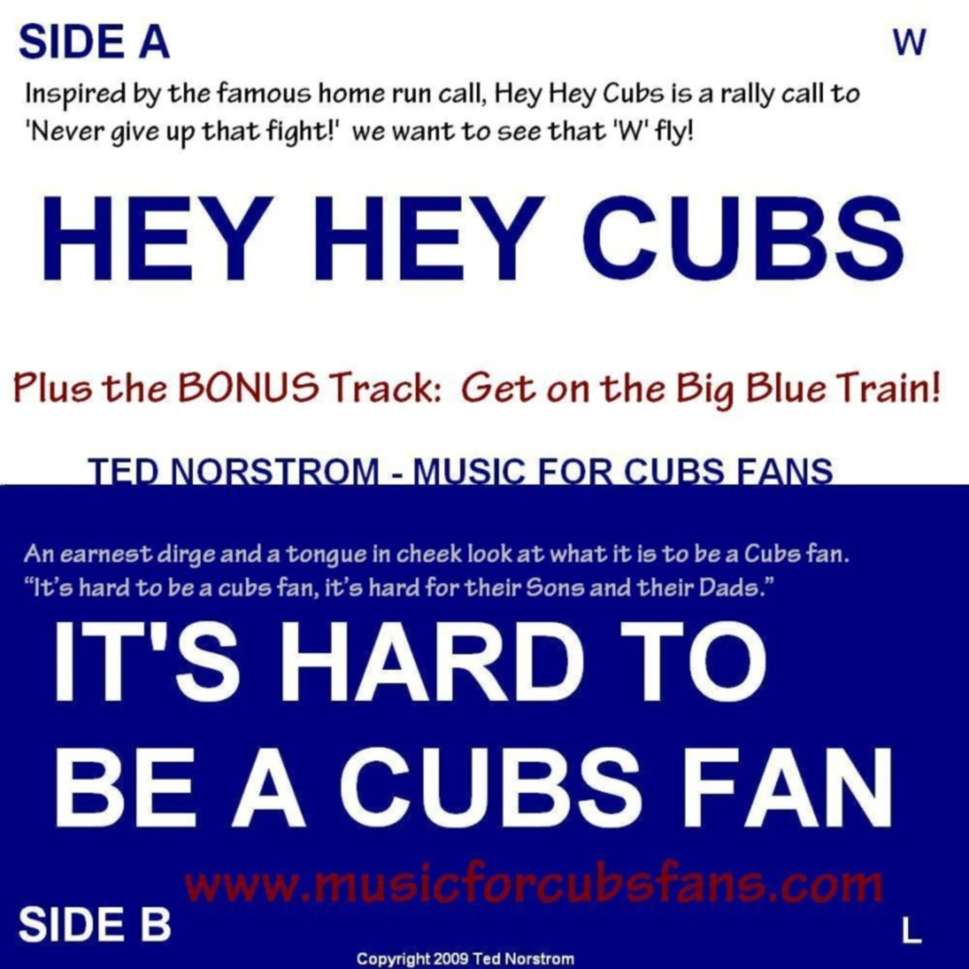 Hey Hey Cubs - It's Hard to be a Cubs Fan